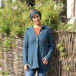 Aran Jacke und Stirnband, Lana Shirt, Bloomers Jeans, Loints Stiefel